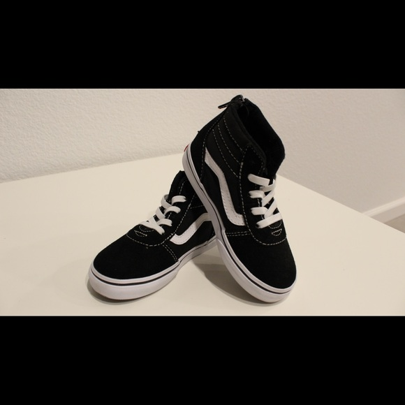 Other - LIKE NEW Vans toddler high tops